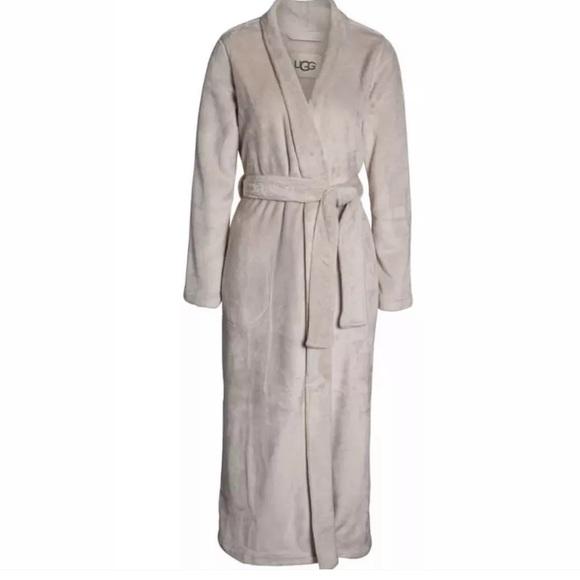 29447c5a8d UGG Marlow Double Face Fleece Robe Moonbeam